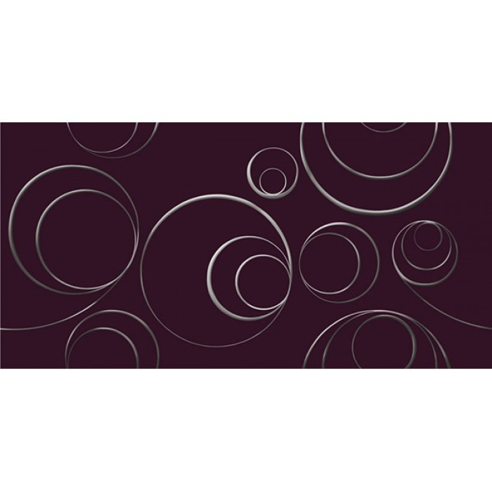 Декор KERLIFE Stella Arabesco Viola 630х315