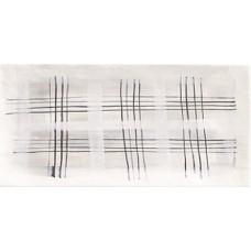 Настенная плитка Mainzu Deco Aquarel grey 150x300