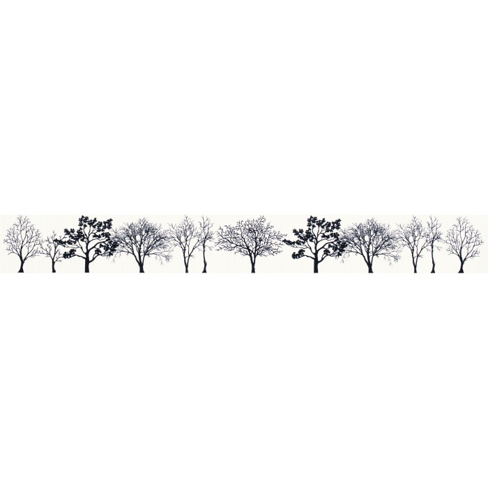 Бордюр PARADYZ Veo 400x48 bianco listwa (Kwadro)