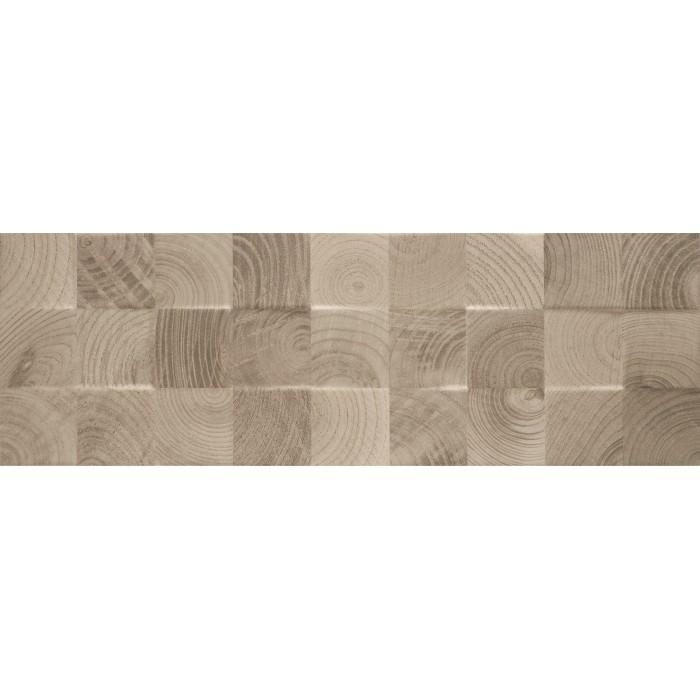 Плитка настенная PARADYZ Daikiri 750x250 brown wood Kostki структура