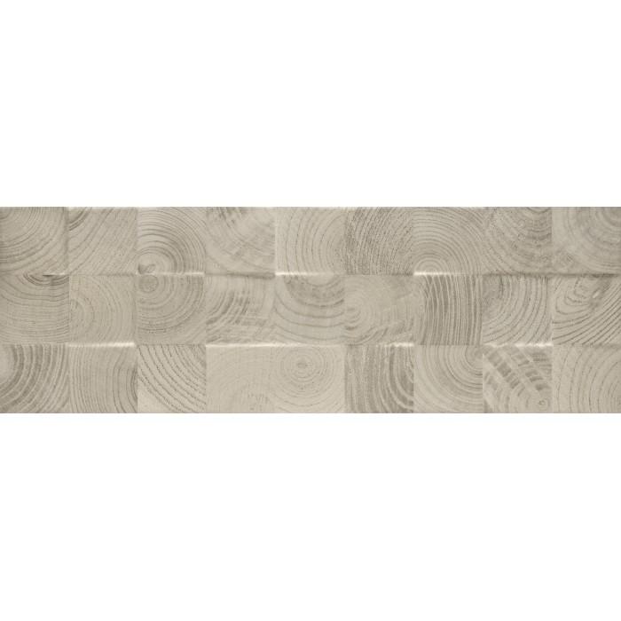 Плитка настенная PARADYZ Daikiri 750x250 grys wood Kostki структура