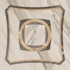Керамогранит ColiseumGres Портофино 450x450 декор Интарсио белый