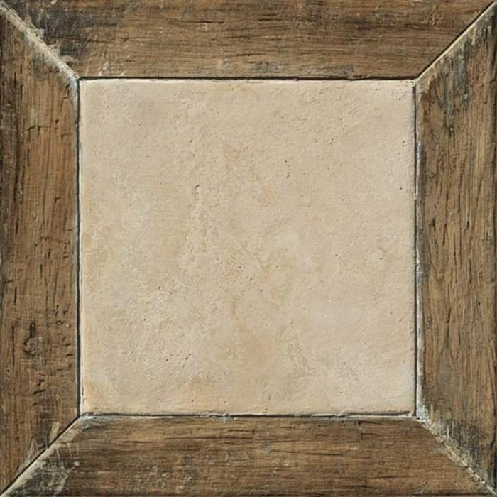 Керамогранит COLISEUMGRES Гарда 450x450 коричневый Фрейм