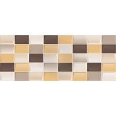 Плитка настенная KERLIFE Elissa Marrone Mosaico 505х201