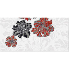 Декор AZORI Валькирия Цветы 1 405x201