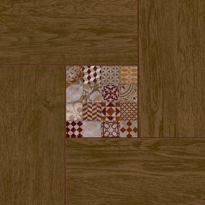 Керамогранит CERSANIT Bellariva коричневый 420x420 C-BL4R112D