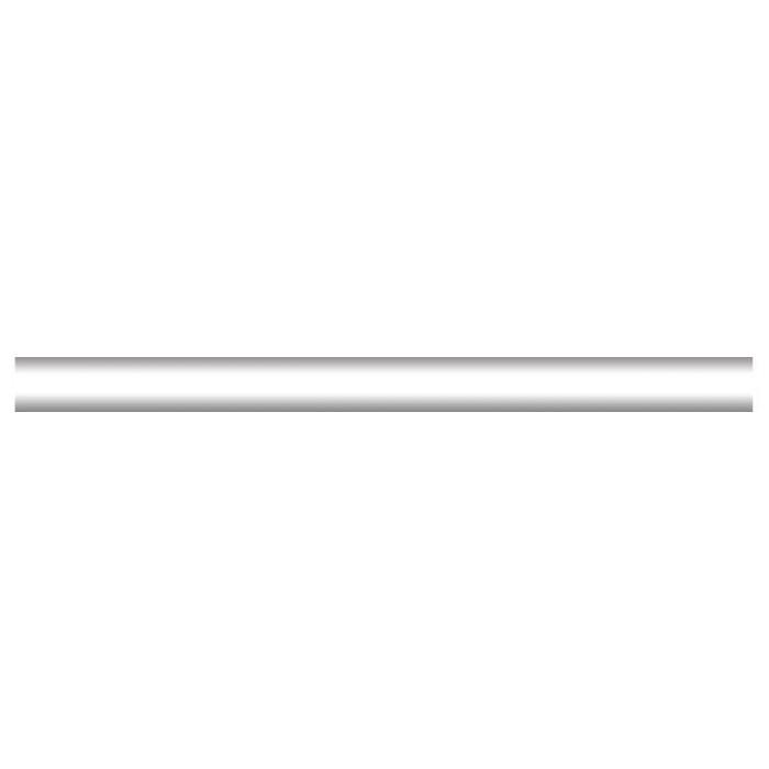 Бордюр KERAMA MARAZZI 200х15 карандаш белый №130