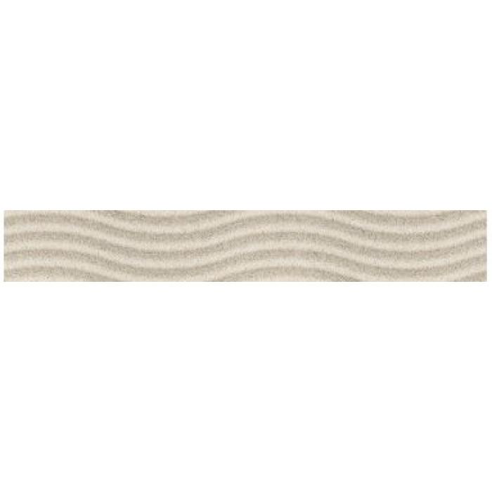 Бордюр GOLDEN TILE Summer Stone Wave 400x60 В41401