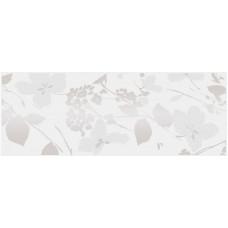 Декор KERAMA MARAZZI Вилланелла 400x150 цветы белый MLD/A67/15000
