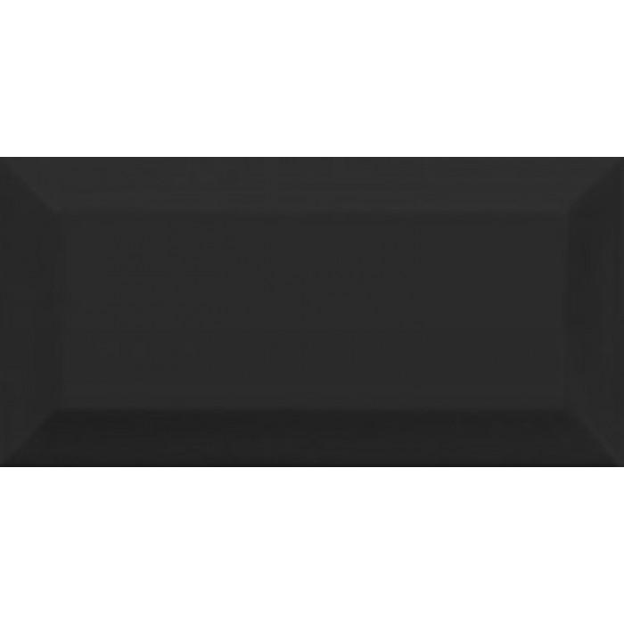 Керамическая плитка GOLDEN TILE Metrotiles 200x100 черный 46С061