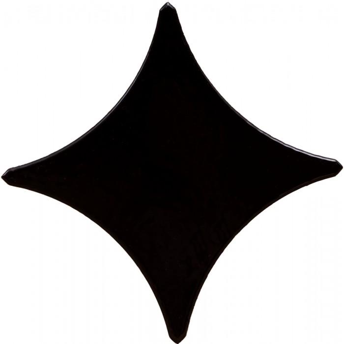 Керамогранит Gracia Ceramica Queen Stella black border 02 110х110