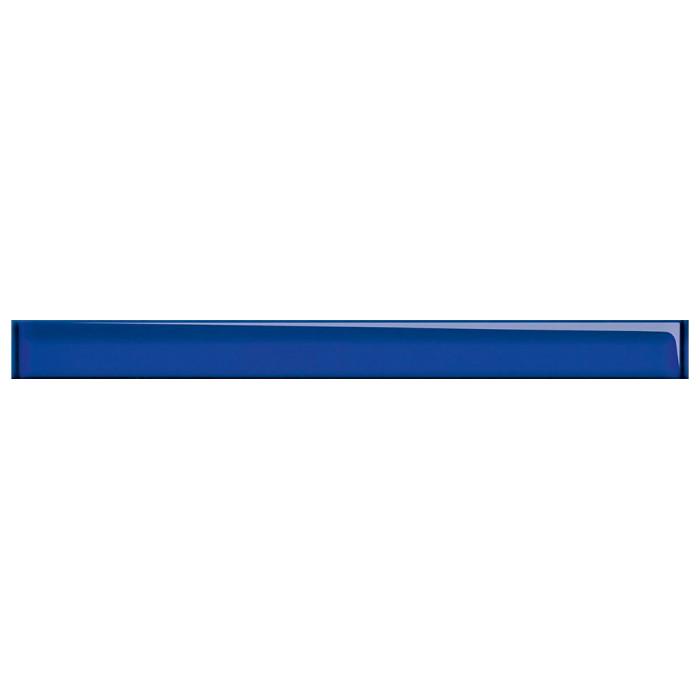 Бордюр Cersanit Tilda 450x40 стеклянный синий UG1H031