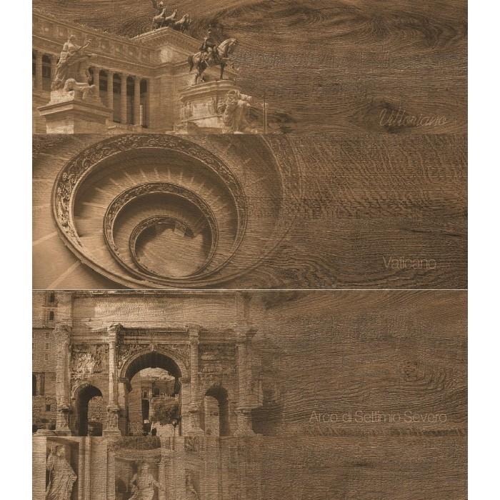 Керамогранит GRASARO Italian Wood Wenge GT-253/d01 600x200