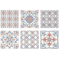 Плитка настенная KERAMA MARAZZI Суррей 200x200 голубой 5227