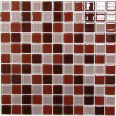 Стеклянная мозаика Brown Mix