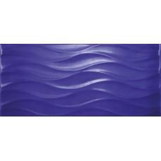 Плитка настенная CERSANIT Wave 440х200 синий WAG121
