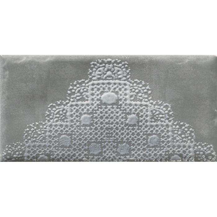 Декор PARADYZ Moli 198x98 Nero inserto C
