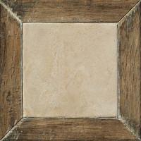 Керамический гранит COLISEUMGRES Гарда Белый Фрейм 450х450