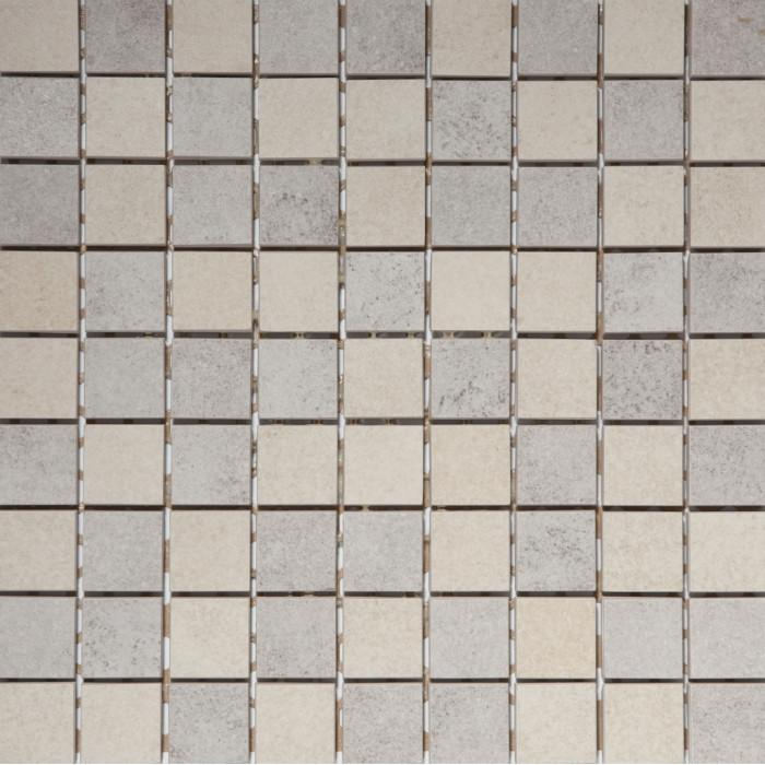 Керамогранит GRASARO Old Stone мозаика 300x300 mix Beige/Grey GT-180-m01/gr