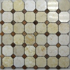 Мозаика из натурального камня Dublin 305х305