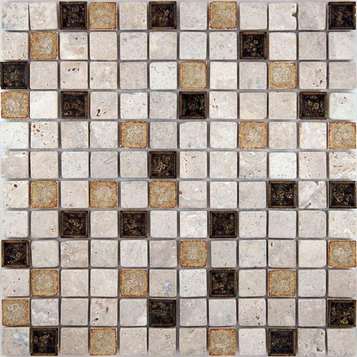 Мозаика из натурального камня A24 300x300