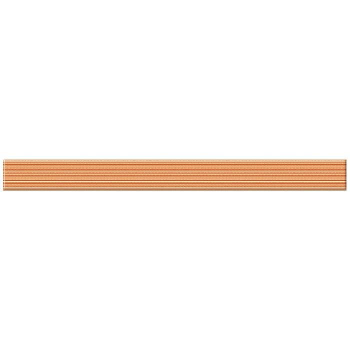 Бордюр CERSANIT Sunrise 440x40 ФРИЗ оранжевый SU7H421