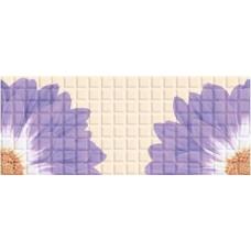 Плитка настенная AZORI Mariscos Mosaic Floris Lila 505x201
