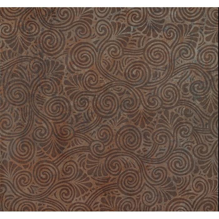 Декор COLISEUMGRES Сардиния Загара коричневый 450х450