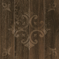 Декор GRASARO Svalbard 400x400 Dark Brown темно-коричневый GT-262/d01