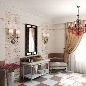 Плитка для ванной Gracia ceramica Garden Rose