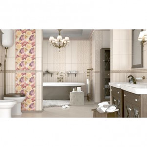 Плитка для ванной Golden tile Gobelen
