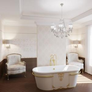 Плитка для ванной Gracia ceramica Fabric