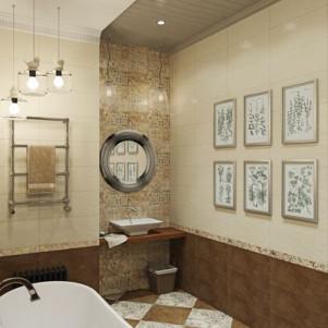 Плитка для ванной Gracia ceramica Patchwork