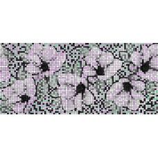 Декор CERSANIT Black&White 440x200 цветы BW2G231