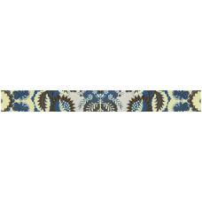 Бордюр GRACIA CERAMICA Erantis blue 01 border 600х65