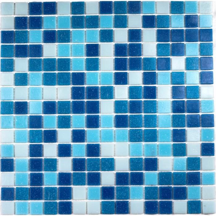 Стеклянная мозаика Aqua 100 на бумаге 327x327