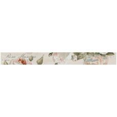 Бордюр GRACIA CERAMICA Garden Rose beige border 01 600х65