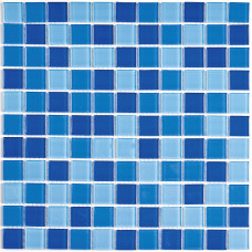 Стеклянная мозаика Blue Wave-2