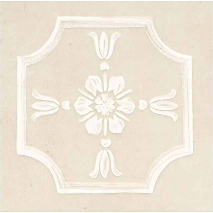 Вставка настенная KERAMA MARAZZI КАПОДИМОНТЕ беж 145х145 STG\B433\11099
