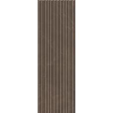 Плитка настенная KERAMA MARAZZI Низида коричневая структура обрезная 250х750 12096R