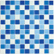 Стеклянная мозаика Blue Wave-3 300х300
