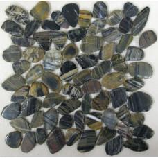 Мозаика из натурального камня Flat Tiger jack
