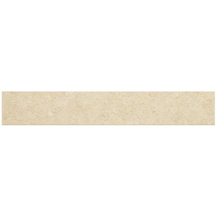 Бордюр COLISEUMGRES Марке Антэа белый 450х72