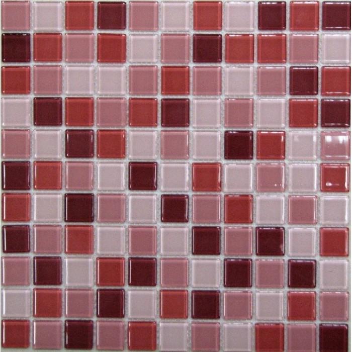 Стеклянная мозаика Plum mix 300х300