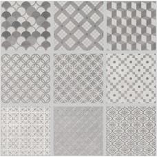Декор KERAMA MARAZZI Карнаби-Стрит 200х200 орнамент беж 1575T