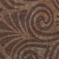 Декор COLISEUMGRES Сардиния Загара коричневый 72х72