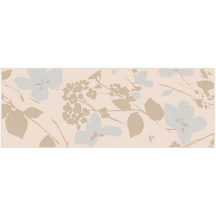 Декор KERAMA MARAZZI Вилланелла 400х150 Цветы бежевый MLD/B67/15084