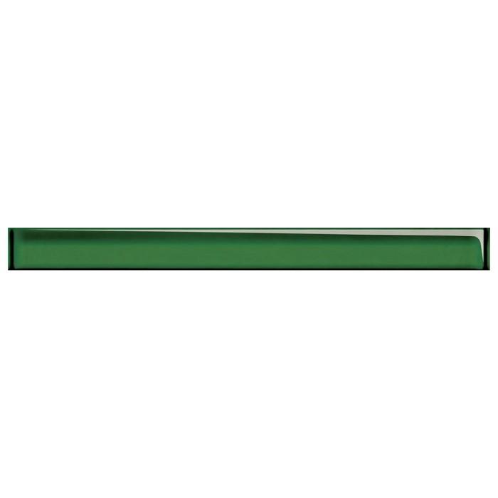 Бордюр CERSANIT 450x40 стеклянный зеленый UG1H021