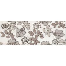 Декор KERAMA MARAZZI Ньюпорт 400x150 цветы коричневый STG/A182/15010