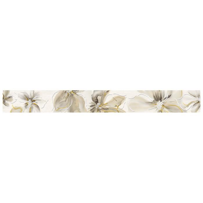 Бордюр CERSANIT Illusion 440х50 цветы IL1J301